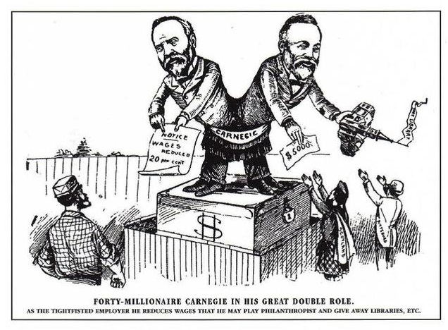 Carnegie Political Cartoon Related Keywords - Carnegie ...